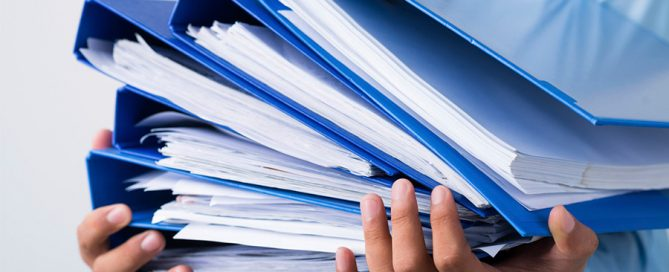 What's the difference between a document and a record?