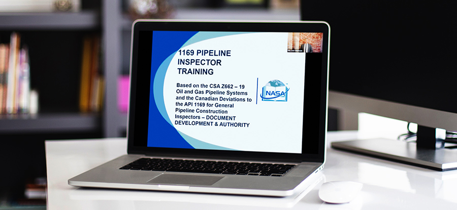 NASA Corp Remote Pipeline Industry Training